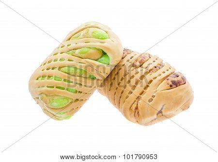 Bread Stuffed With Custard