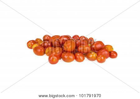 Pile Of Red Grape Tomatoes