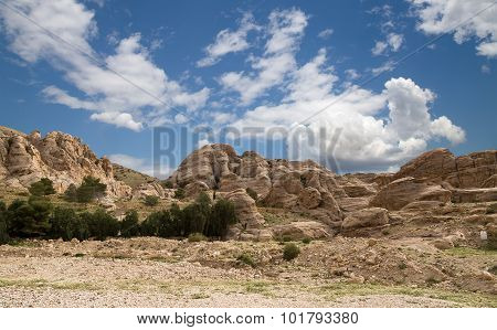 Mountains Of Petra, Jordan, Middle East