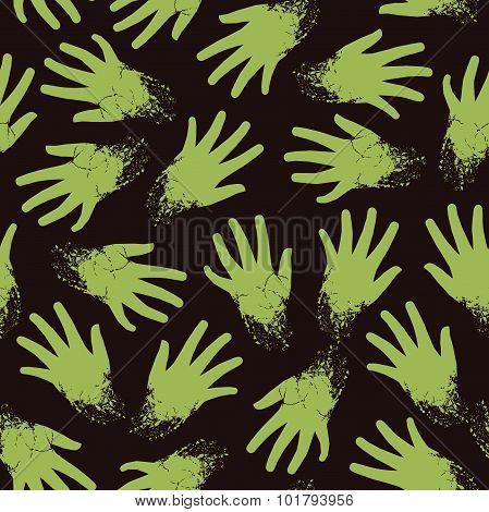 Spooky seamless pattern