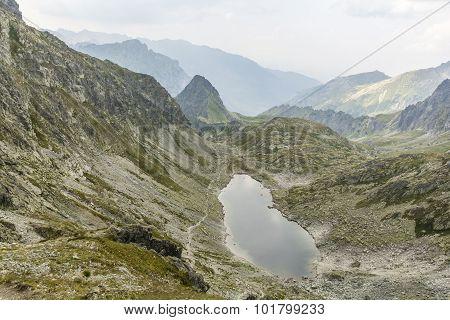 Lake In The Tatras - Zmarzly Staw Pod Polskim Grzebieniem (zamrznute Pleso, Zmrznute Pleso)