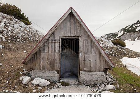 Abandoned Mountain Shelter