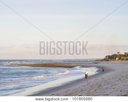 Kutani Beach In Dar Es Salaam, Tanzania