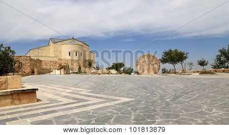 Basilica Of Moses (memorial Of Moses), Mount Nebo, Jordan
