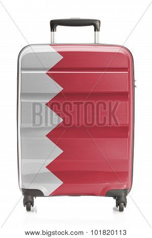 Suitcase With National Flag Series - Bahrain