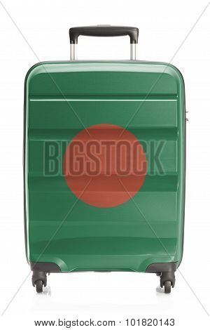 Suitcase With National Flag Series - Bangladesh