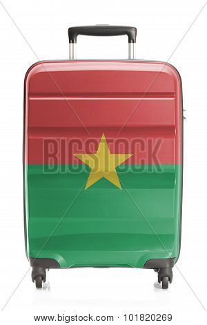 Suitcase With National Flag Series - Burkina Faso