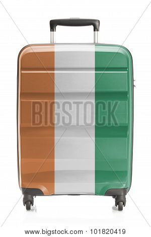 Suitcase With National Flag Series - Ivory Coast
