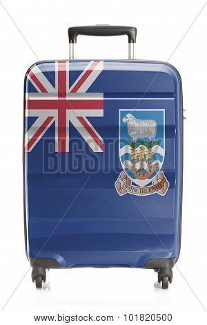 Suitcase With National Flag Series - Falkland Islands