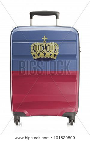 Suitcase With National Flag Series - Liechtenstein