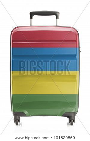 Suitcase With National Flag Series - Mauritius