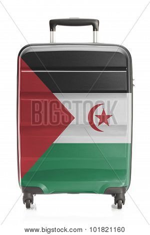 Suitcase With National Flag Series - Sahrawi Arab Democratic Republic