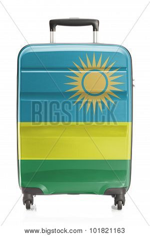 Suitcase With National Flag Series - Rwanda