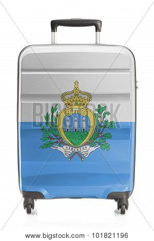 Suitcase With National Flag Series - San Marino