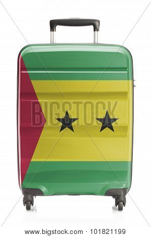 Suitcase With National Flag Series - Sao Tome And Principe
