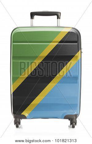 Suitcase With National Flag Series - Tanzania