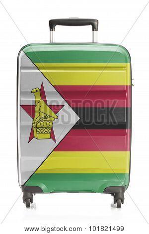 Suitcase With National Flag Series - Zimbabwe