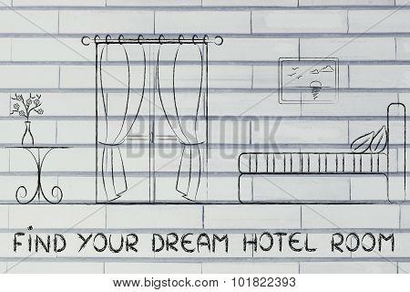 Find Your Dream Hotel, Design Of Room Interior