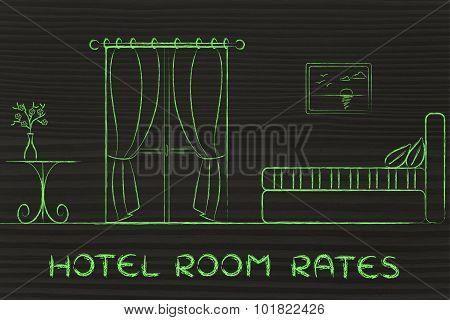 Hotel Rates, Design Of Room Interior