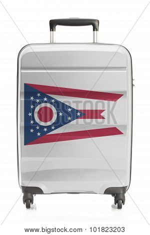 Suitcase With Us State Flag Series - Ohio