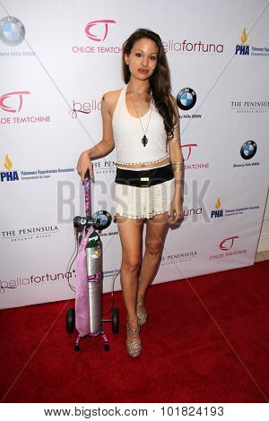 LOS ANGELES - SEP 15:  Chloe Temtchine at the