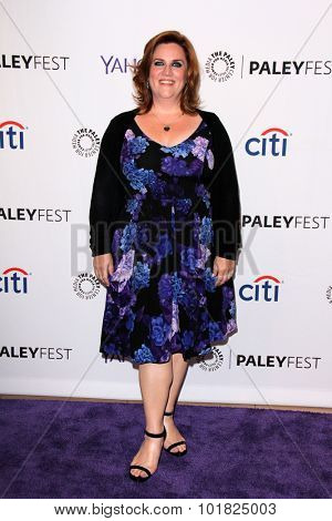 LOS ANGELES - SEP 14:  Donna Lynne Champlin at the PaleyFest 2015 Fall TV Preview - Crazy Ex-Girlfriend at the Paley Center For Media on September 14, 2015 in Beverly Hills, CA