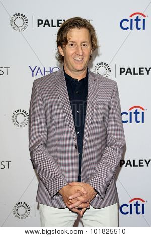LOS ANGELES - SEP 12:  Mike Sikowitz at the PaleyFest 2015 Fall TV Preview - ABC at the Paley Center For Media on September 12, 2015 in Beverly Hills, CA