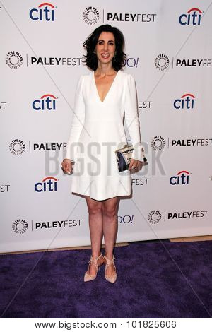 LOS ANGELES - SEP 14:  line Brosh McKenna at the PaleyFest 2015 Fall TV Preview - Crazy Ex-Girlfriend at the Paley Center For Media on September 14, 2015 in Beverly Hills, CA