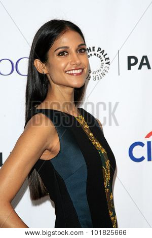 LOS ANGELES - SEP 12:  Melanie Chandra at the PaleyFest 2015 Fall TV Preview - CBS Code Black at the Paley Center For Media on September 12, 2015 in Beverly Hills, CA
