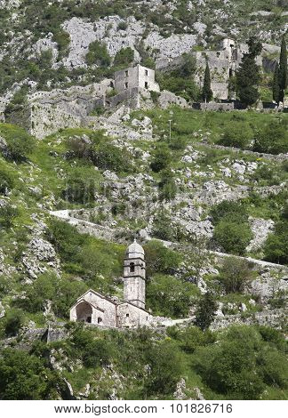 Ruins Of The Fortress Over Kotor