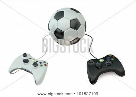 Soccer Video Game Tournament Concept