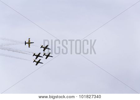 Baltic Bees Jet Team Flying