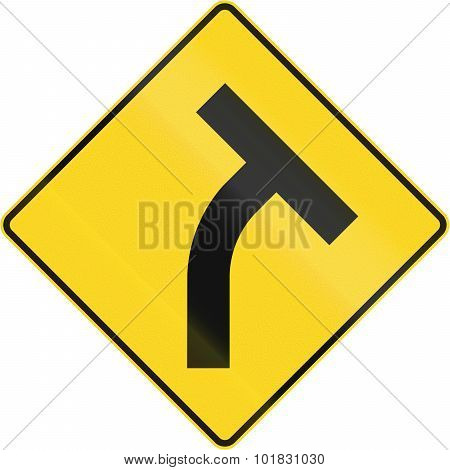 Intersection Ahead In Canada