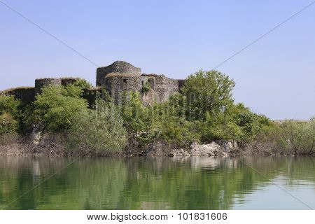 Ruins Of A Fortress On Skadar Lake