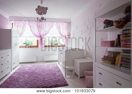 Neat Furnished Child Room