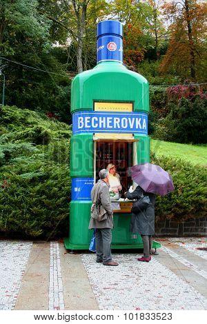 Becherovka in Karlovy Vary