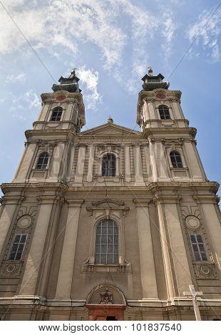 Cathedral Of St Teresa Of Avila In Subotica