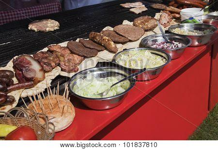 Street Food In Serbia
