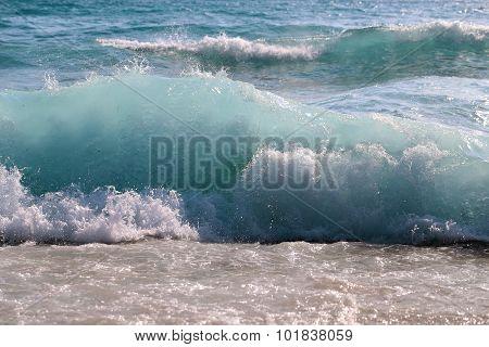 Beautiful Sea Wave With