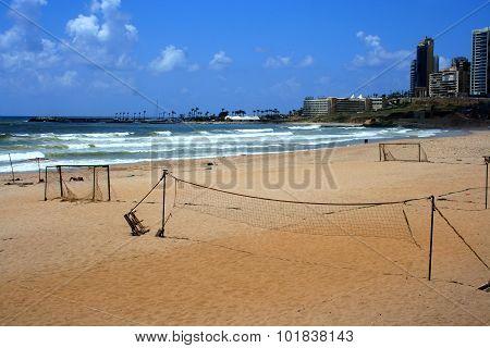 Ramlet al-Baida Beach,Beirut,Lebanon