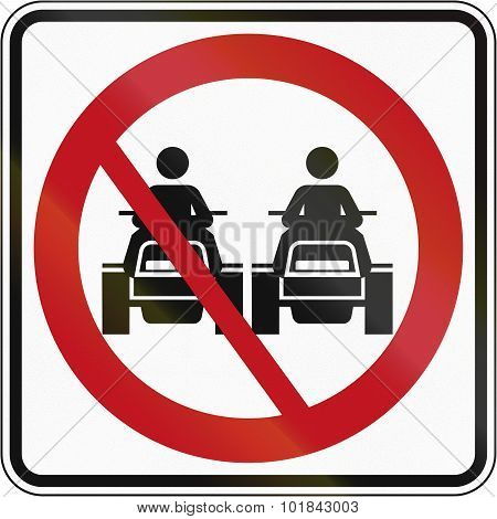 No Overtaking For Atvs In Canada