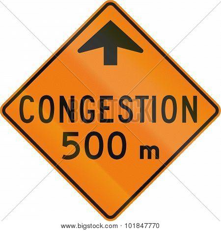 Traffic Congestion Ahead In Canada
