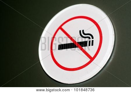 No Smoking Sign And Symbol