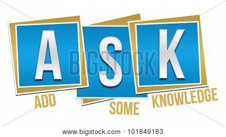 Ask Formula Blue Blocks