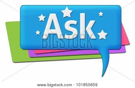 Ask Colorful Comments Symbols