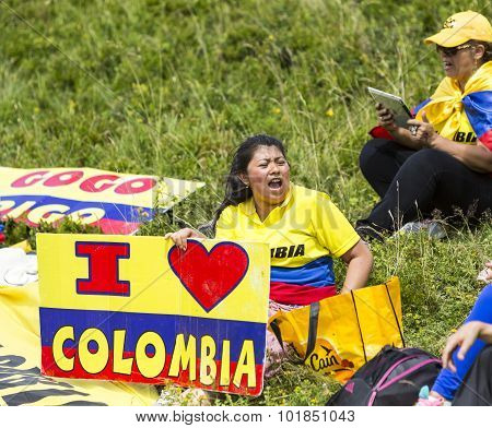 Colombian Supporters