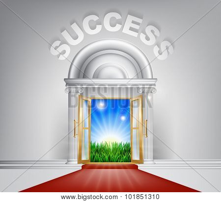 Success Door Concept