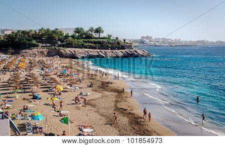 El Duque Beach In Tenerife, Canary Islands