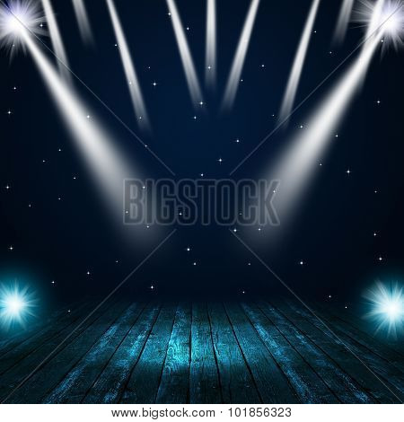 Music Stage Spotlights