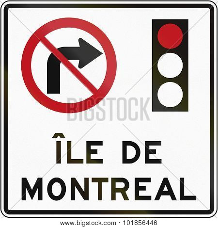 No Right Turn On Red In Montreal
